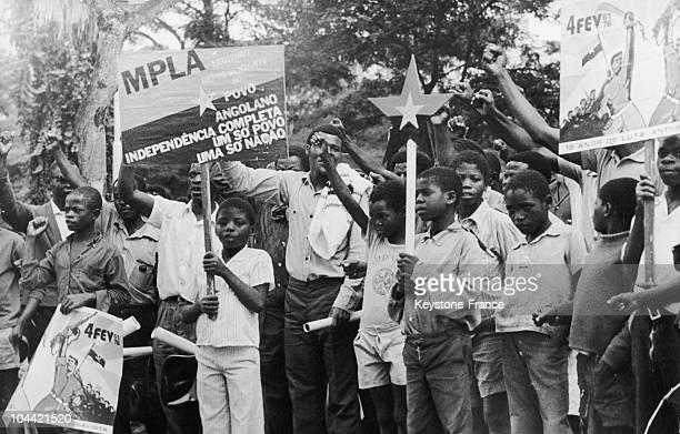 Demonstration Dor Angola Independence
