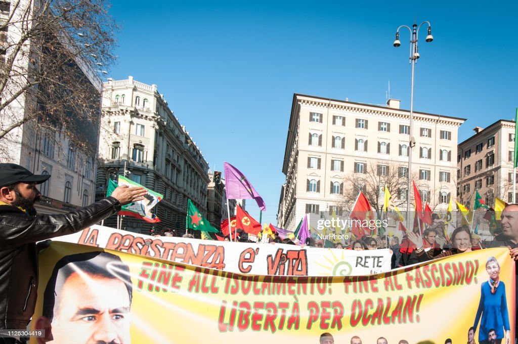 ITA: Kurdish Protest In Rome