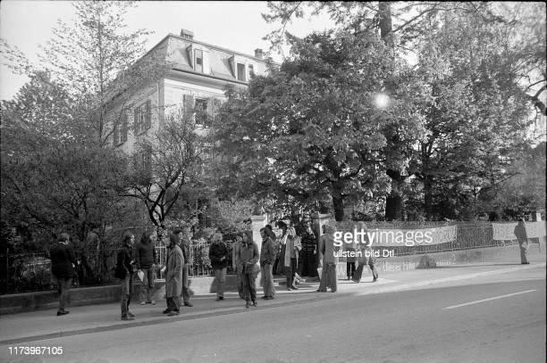 Demonstration gegen Verlust von günstigem Wohnraum Bern 1975