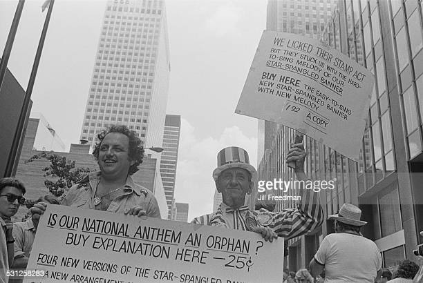 A demonstration in New York City 1976