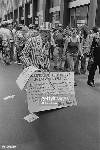 A demonstration in New York City circa 1976