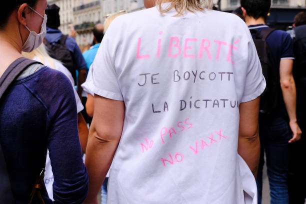 FRA: Anti-government Demonstration In Paris