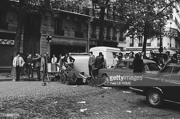 Demonstration in Paris France on May 06 1968