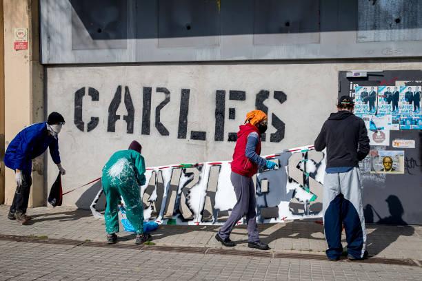ESP: Supporting Activist Arrested In Barcelona