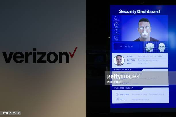 A demonstration of 5Genabled security operations software shows how the software benefits from a 5G connection at Verizon Communications Inc's 5G...