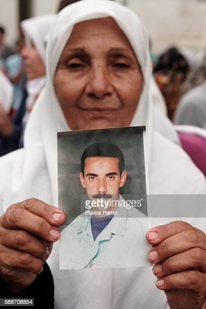 Demonstration of Mothers of the Disappeared at Sidi Ferroch Beach