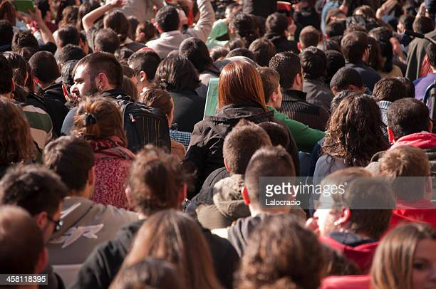 demonstração - greve imagens e fotografias de stock