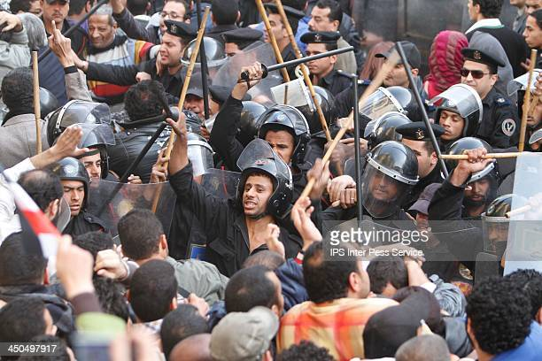 CONTENT] Demonstrations calling for the ouster of President Hosni Mubarak of Egypt continued for the second day in several Egyptian cities with...