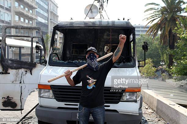 Demonstrations in Athens against austerity. Another massive demonstration against the government 's plans for new austerity measures, with...