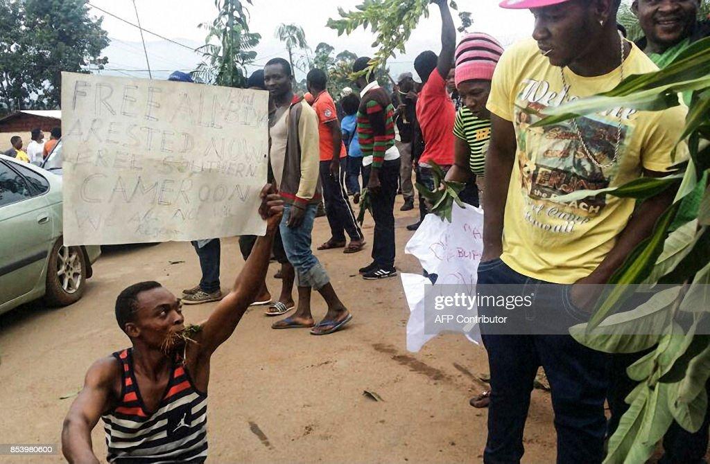 CAMEROON-POLITICS-OPPOSITION-LANGUAGE : News Photo