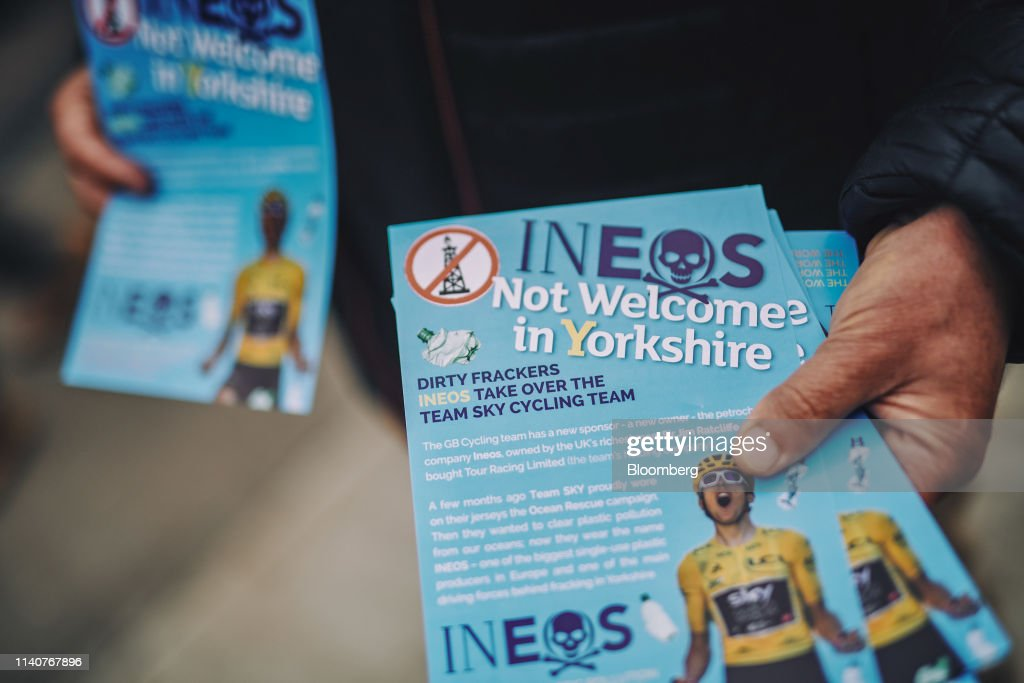 Team Ineos Debuts In The Tour De Yorkshire : ニュース写真