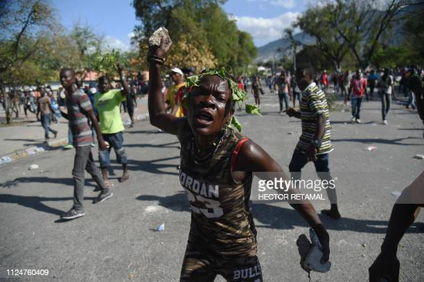 HTI: Haiti protesters call on President Jovenel Moise to quit