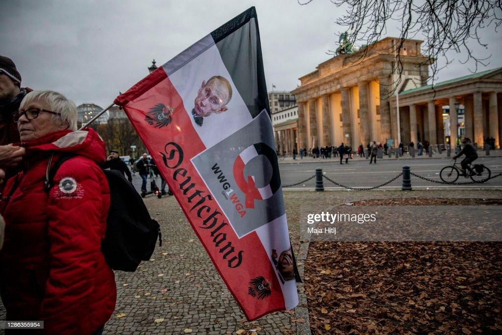 Bundestag To Pass Modifications To Legal Framework For Coronavirus Restrictions : Nachrichtenfoto