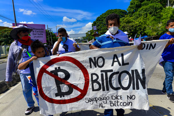 SLV: Demonstrations In El Salvador Against The Government And The Use Of Bitcoin