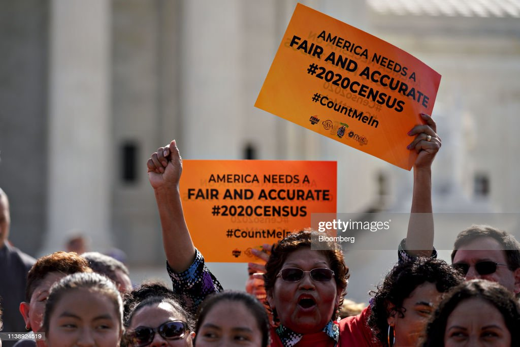 DC: Supreme Court Hears Arguments On Trump Administration's Effort To Add Citizenship Question To 2020 Census