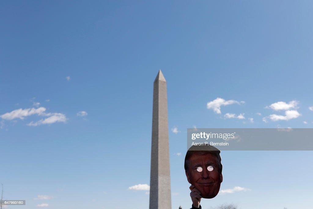 Trump Supporters Hold Rallies Across The U.S. : News Photo