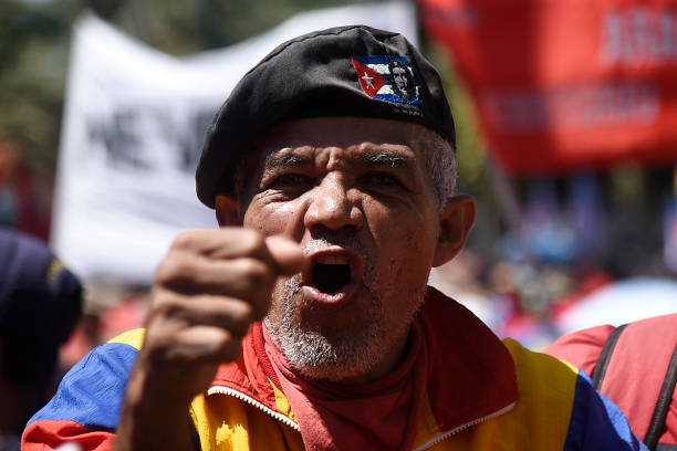 VEN: Anti-Imperialism Demonstration in Caracas
