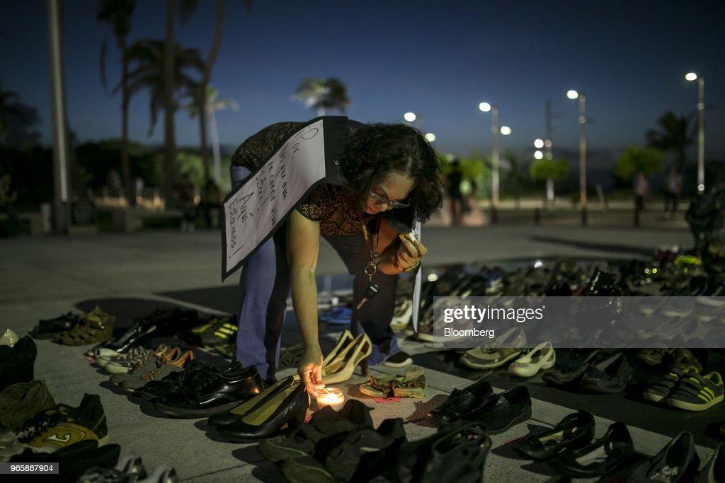 Residents Honor Victims As Study Estimates Hurricane Maria Killed Thousands : News Photo