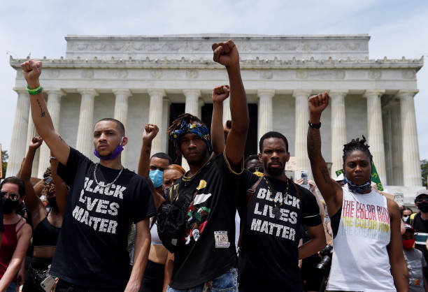 USA: Anti-Racism Protests Held In U.S. Cities Nationwide