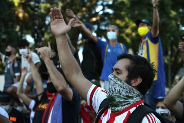 PRY: Paraguayans Protest Against President Mario Abdo Benitez Amid Coronavirus Pandemic
