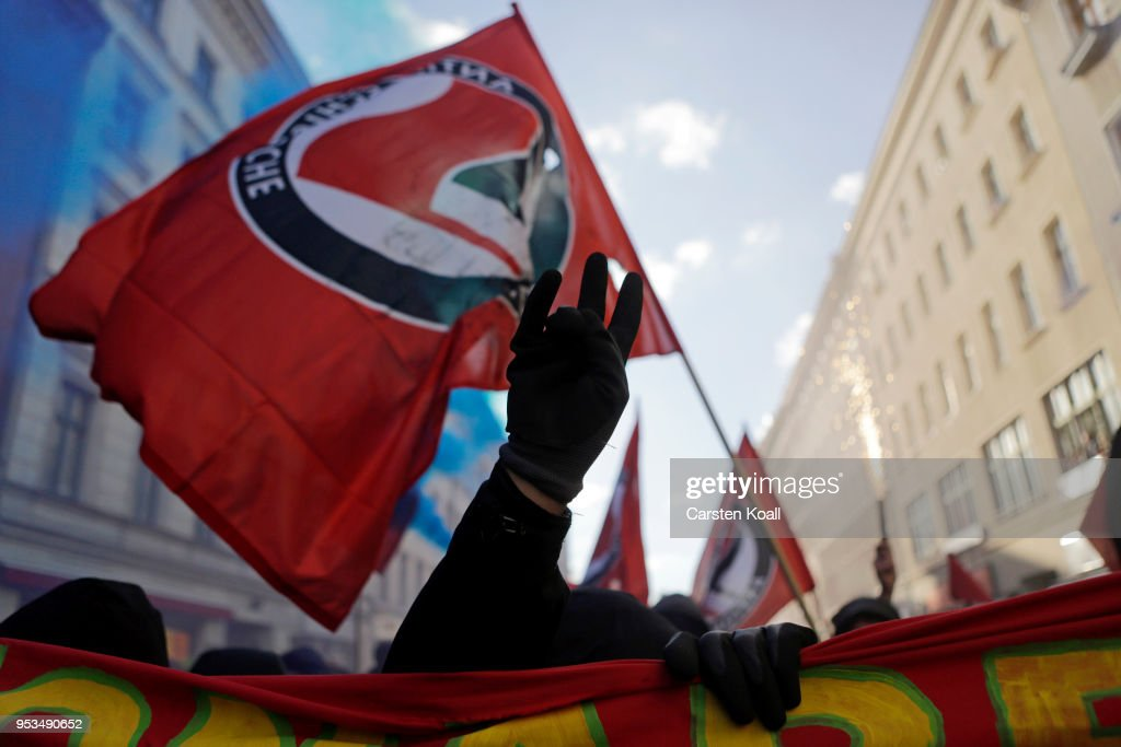May Day In Berlin : News Photo