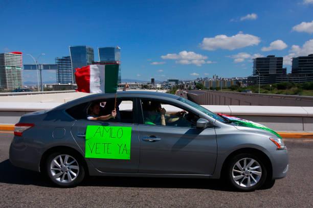 MEX: Caravan Protest Against President of Mexico Lopez Obrador
