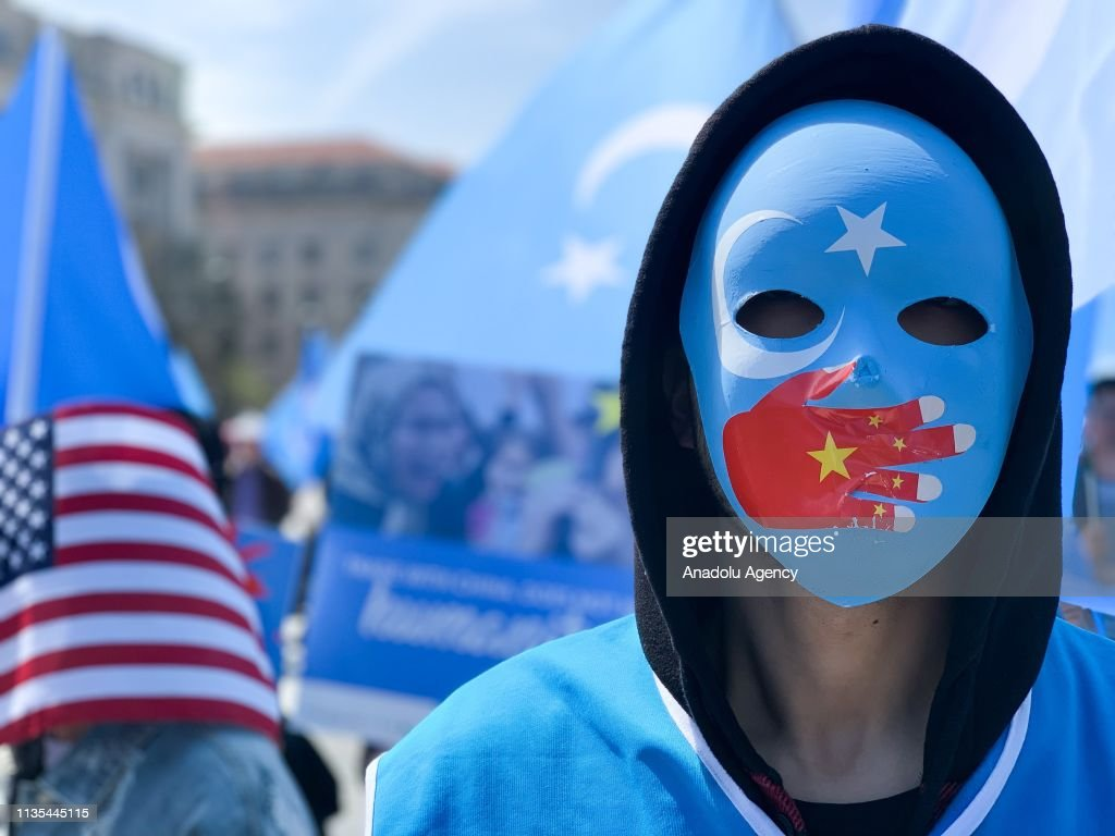 Protest against China in Washington : News Photo