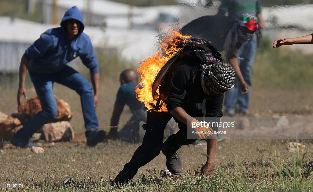 PALESTINIAN-ISRAEL-CONFLICT-GAZA-NAKBA : News Photo