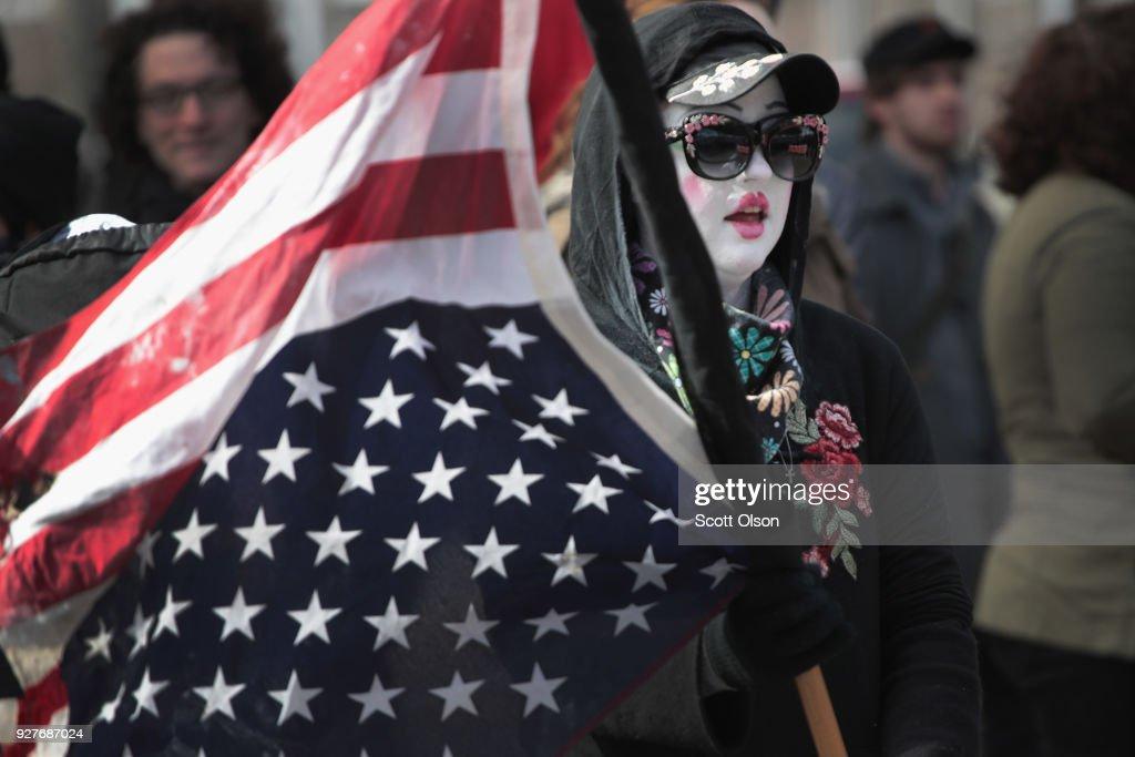 Activists Protest Alt Right Leader Richard Spencer's MSU Appearance : ニュース写真