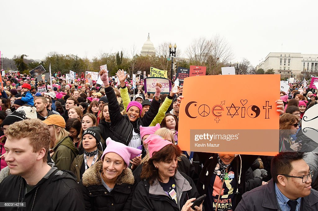 Women's March on Washington - Rally : News Photo