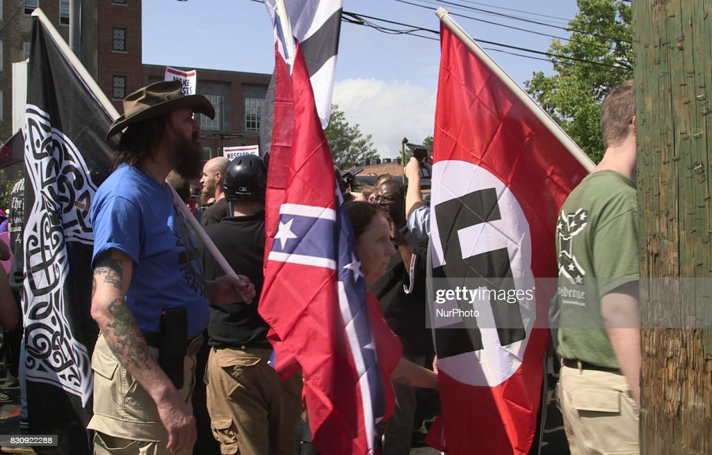 Violence breaks out at Charlottesville free speech rally : News Photo