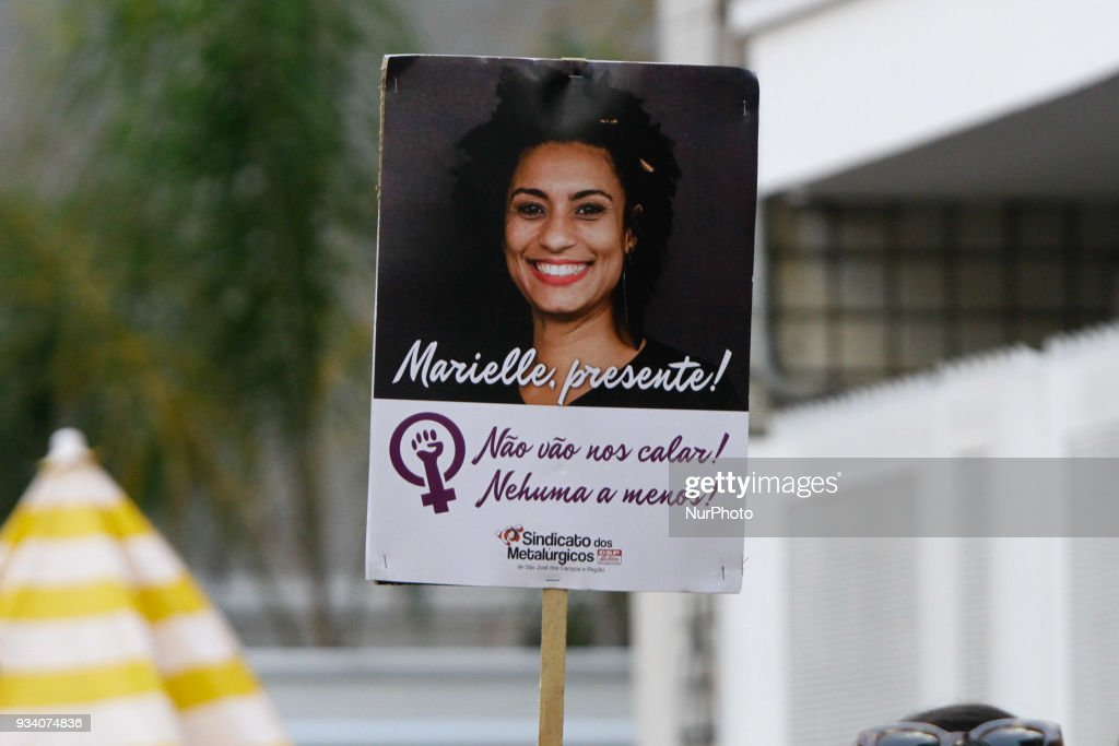 IN FOCUS - Brazil Protests Against The Killing Of Marielle Franco