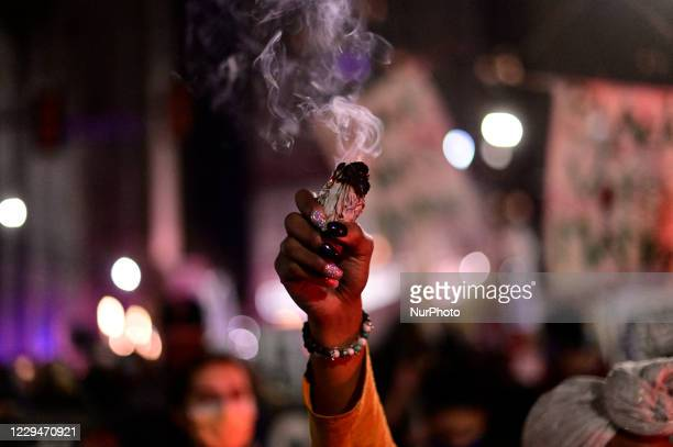 Demonstrators demand to Count Every Vote in a Post-election protest in Center City Philadelphia, PA, USA on November 2020. Earlier members of the...