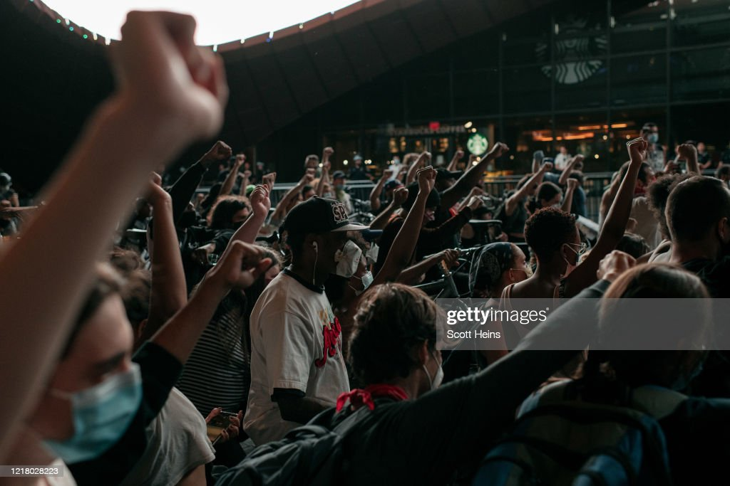 Anti-Racism Protests Held In U.S. Cities Nationwide : News Photo