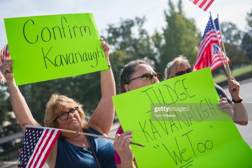 Fbi Investigation On Kavanaugh News Photo