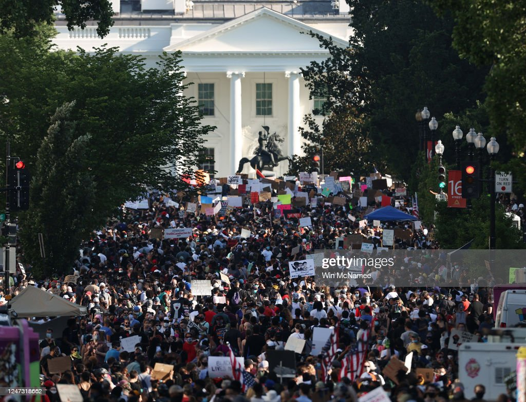 Black Lives Matter Protests Held In Cities Nationwide : News Photo