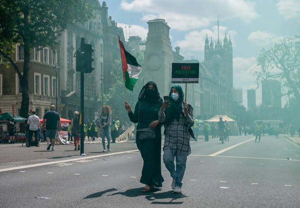 GBR: Justice For Palestine Protest