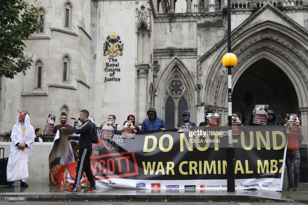 BRITAIN-UAE-DIPLOMACY-COURT-MARRIAGE : News Photo