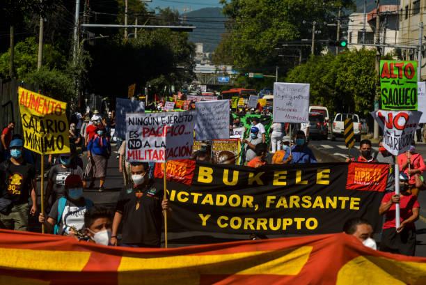 SLV: Protest Against President Bukele