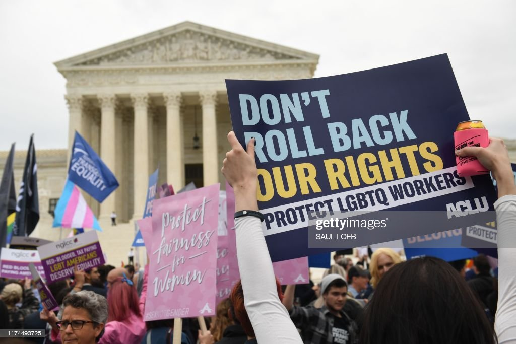US-HOMOSEXUALITY-RIGHTS-JUSTICE-DISCRIMINATION-EMPLOYMENT : Nachrichtenfoto