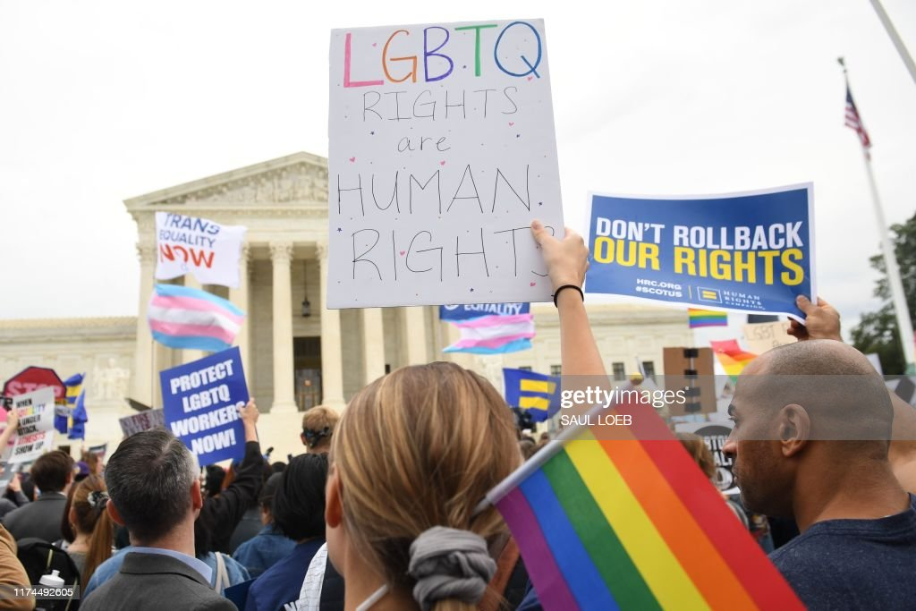 US-HOMOSEXUALITY-RIGHTS-JUSTICE-DISCRIMINATION-EMPLOYMENT : News Photo