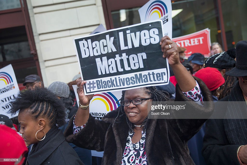 Rally Held After New Reports Released In Police Shooting Of Laquan McDonald : News Photo