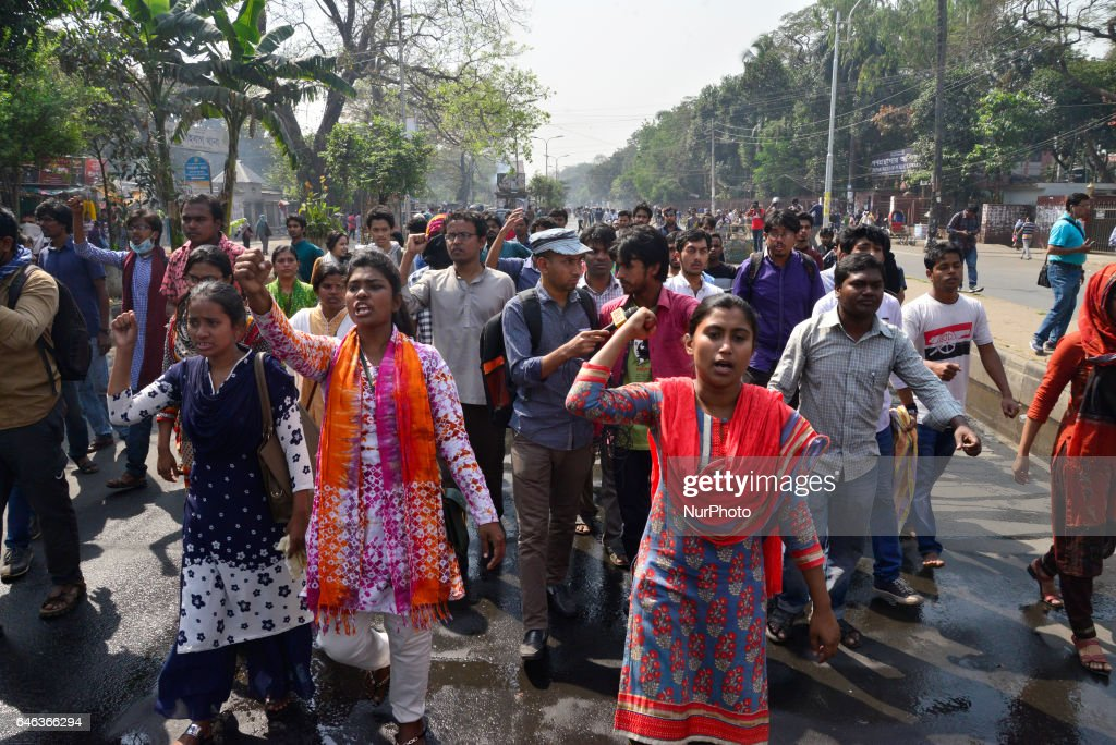 Strike to protest against gas price hike in Dhaka : News Photo