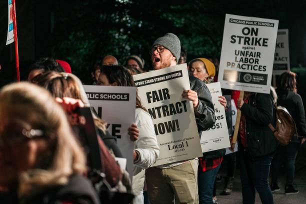 IL: Chicago Teachers And Staff Go On Strike