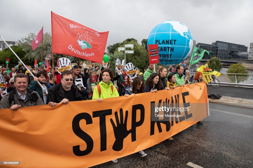 Demonstrators Demand End To Coal-Based Energy Production
