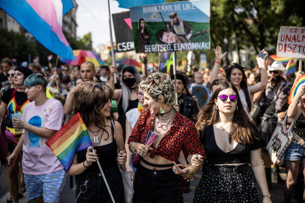 HUN: 2021 Pride Parade as Orban Promises to Fight EU on LGBTQ Law