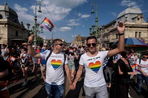 HUN: Budapest Pride March Takes Place Against A Backdrop Of The Hungarian Government's Anti-LGBT Campaign