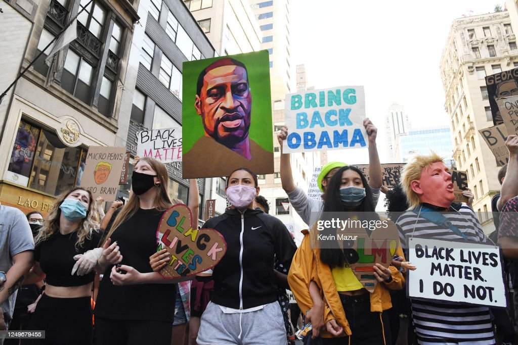Protests Continue Across The Country In Reaction To Death Of George Floyd : News Photo