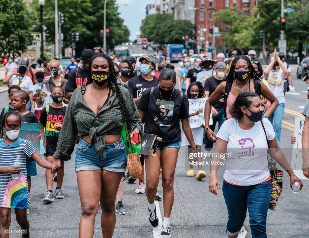 """Black Mamas March"" Held In Washington, D.C. : News Photo"