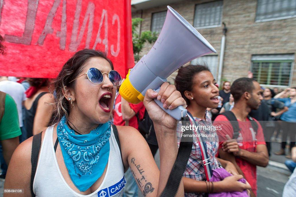 Demonstrators : Stock Photo